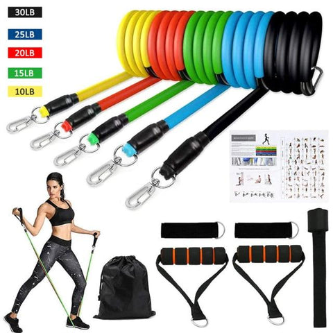 Home Workout Resistance Bands by VibraMassage