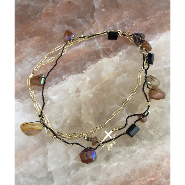 Pecos Roadtrip Gemstone Necklace