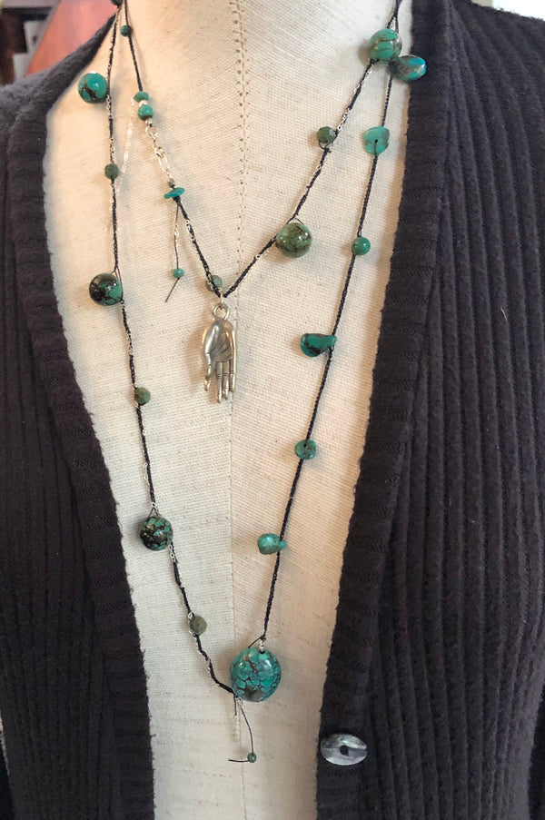 Pecos Turquoise Layering Necklace