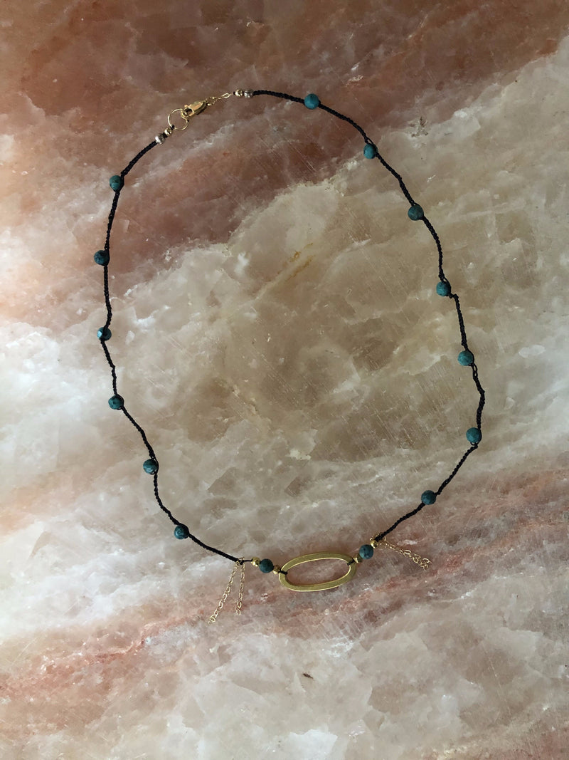 Comal Turquoise Choker