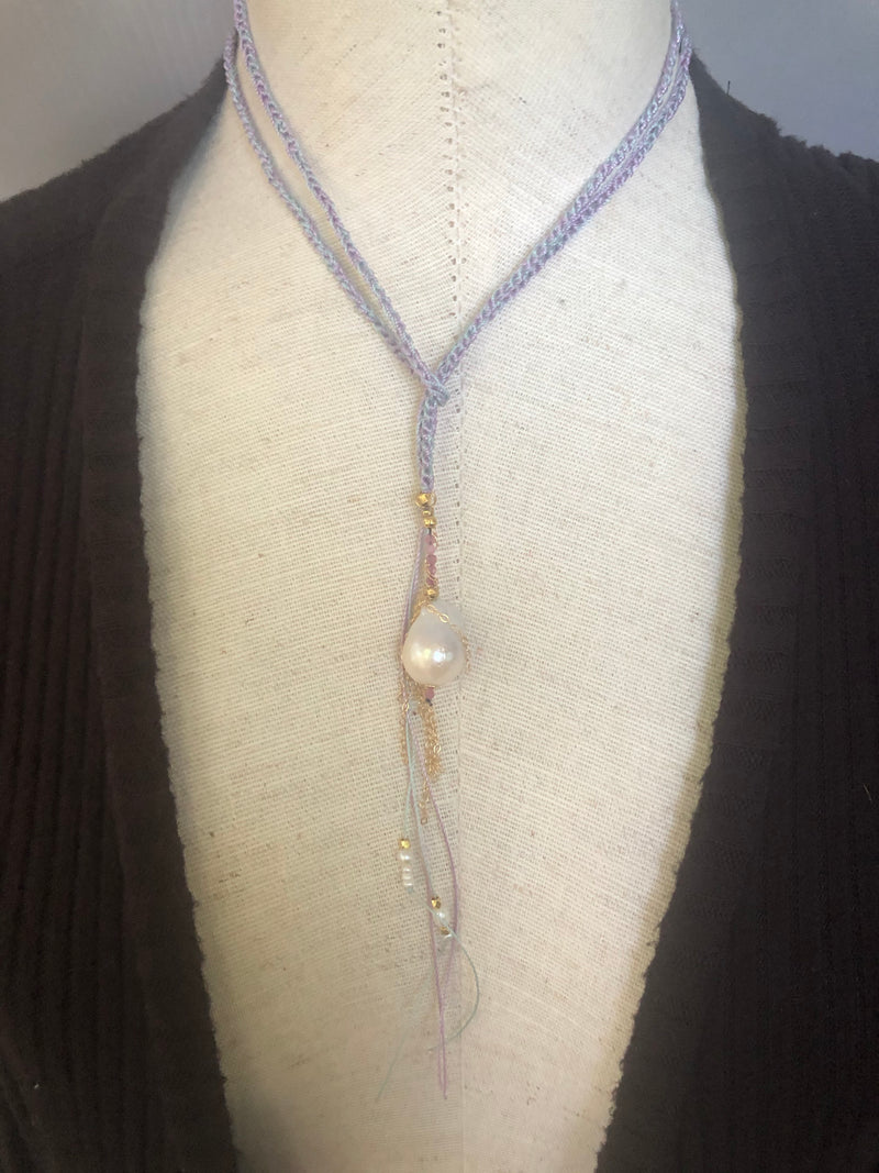 Lupe Pearl Pendant