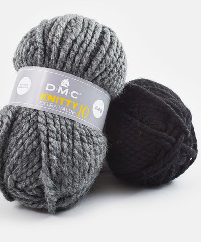ovillo knitty 10 de dmc lana gruesa