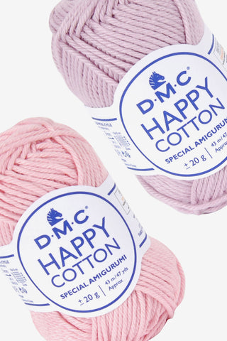 DMC Happy Cotton 20g ovillo de algodón para tejer amigurumis