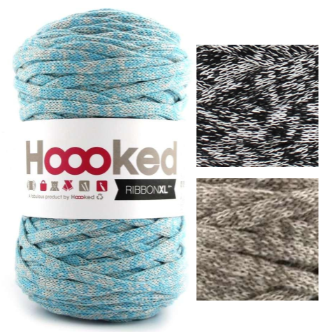 Trapillo-pluma-Ribbon-XL-estampado-Hoooked HOOOKED by DMC
