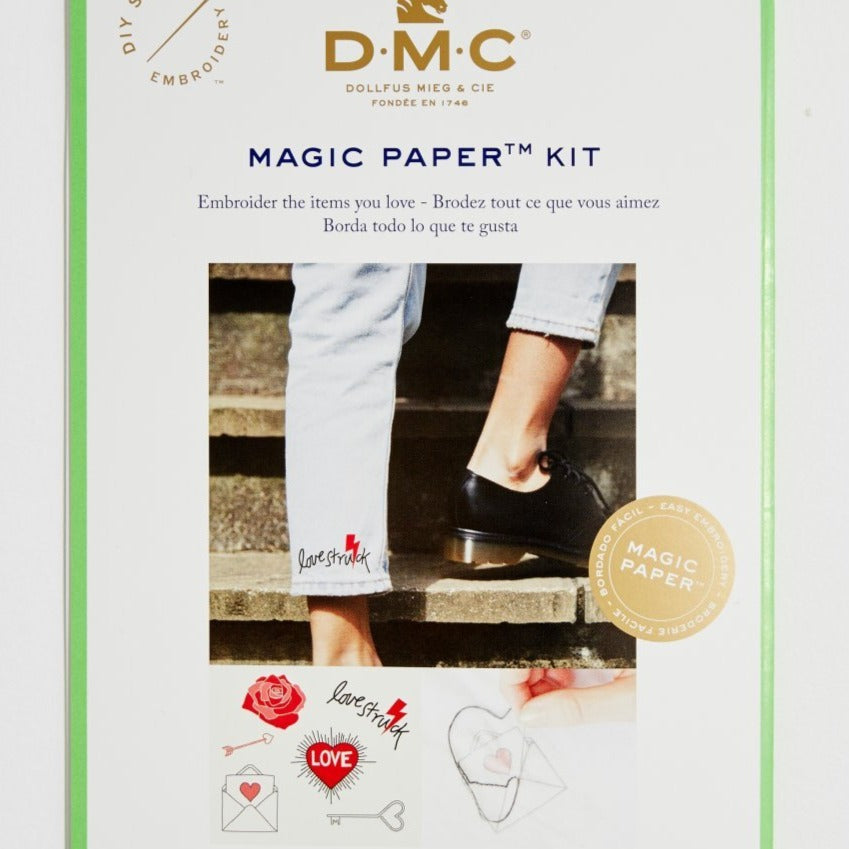 Kit hojas mágicas DMC Love collection bordado