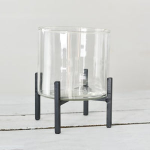 Modern Glass Planter