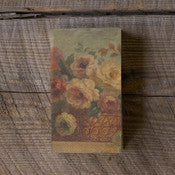 Antique Floral Paper Napkins/Guest Towels