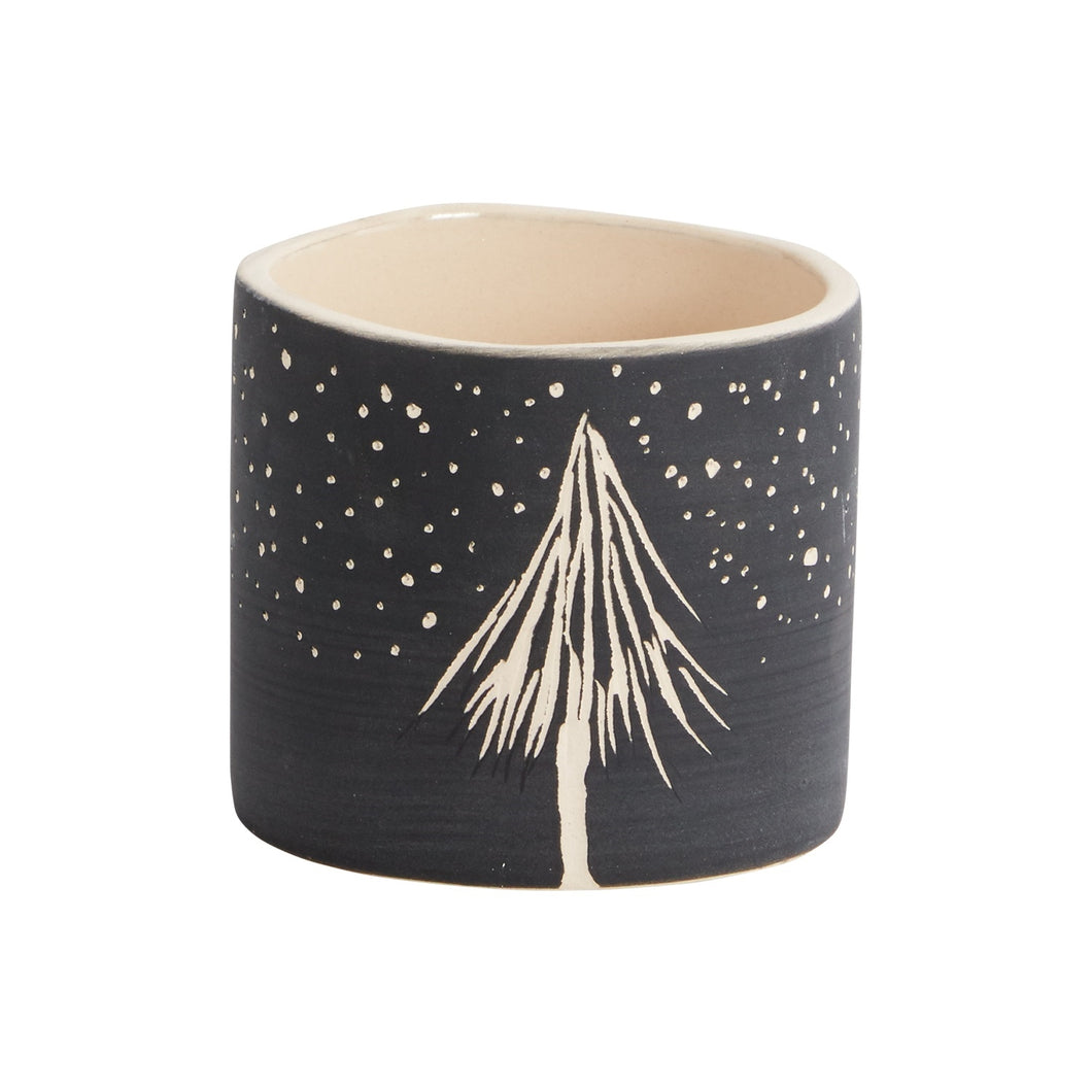 Night Tree Pot