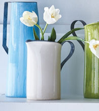 Load image into Gallery viewer, Ceramic Pitcher with Metal Handle
