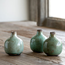Load image into Gallery viewer, Glazed Stoneware Bud Vases
