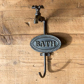 Vintage Bath Towel Holder