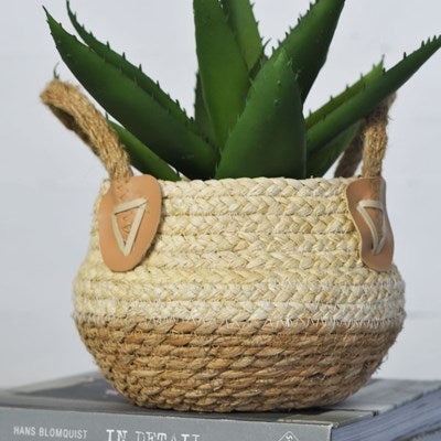 Weave Basket with Handles