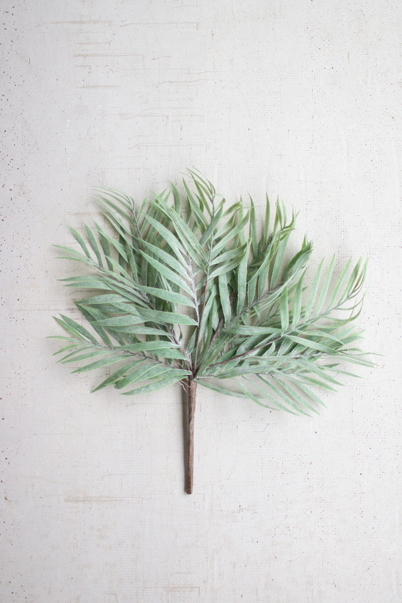 Faux Bamboo Leaves