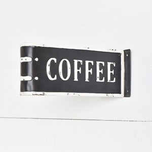 Folded Coffee Sign