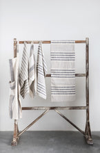 Load image into Gallery viewer, Cotton Striped Tea Towels - Set/3
