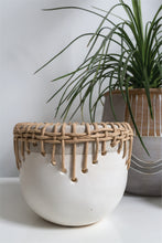 Load image into Gallery viewer, Rattan Woven Planter