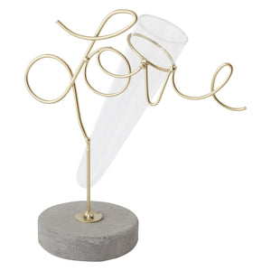 """Love is in the Air"" Vase"