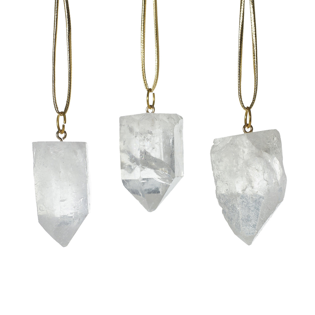 Natural Stone Ornaments - Set of 3