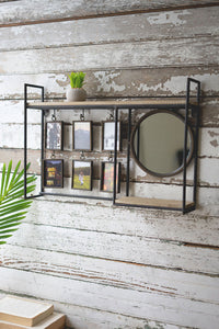 Wall Shelf/Mirror/Photo Frames