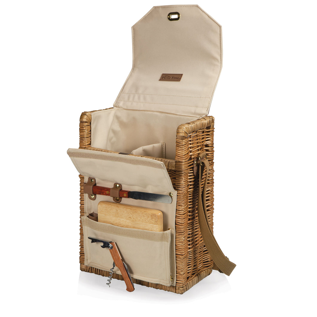 Wine & Cheese Picnic Basket