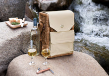 Load image into Gallery viewer, Wine & Cheese Picnic Basket