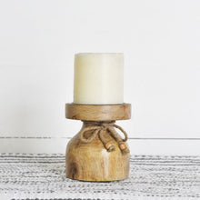 Load image into Gallery viewer, Wood Candle Stand