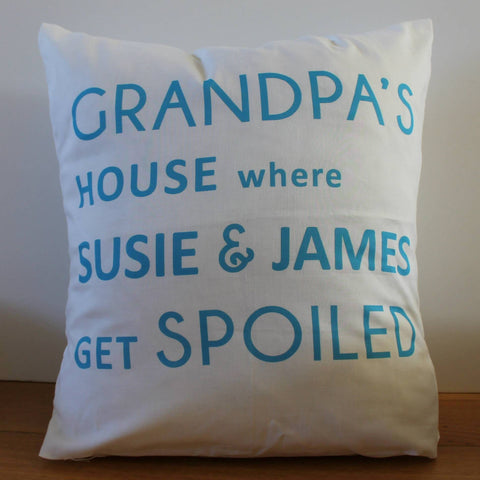 Grandad cushion