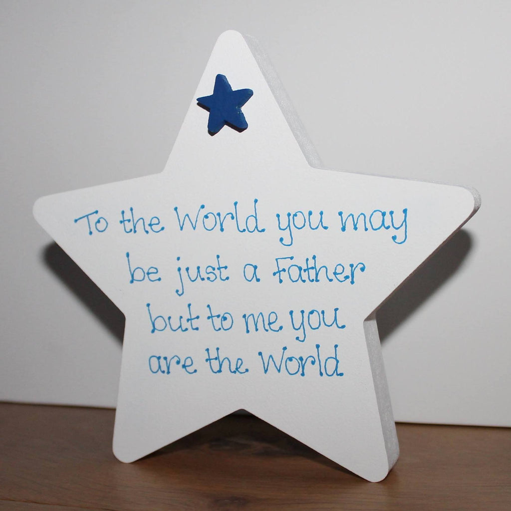 Father's Day Freestanding Star 2