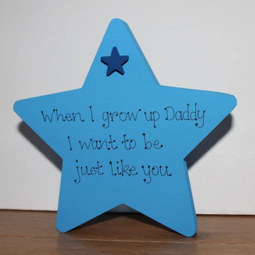 Father's Day Freestanding Star 5