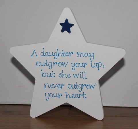 Father's Day Freestanding Star 4