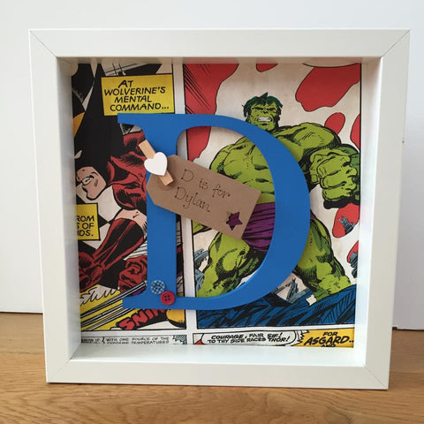 The Hulk Character Initial Frame