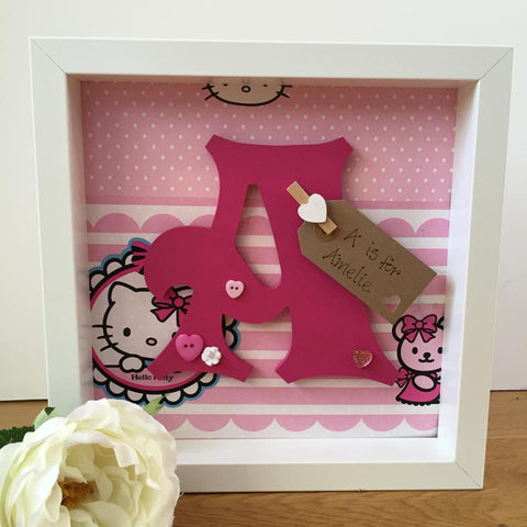 Hello Kitty Character Initial Frame