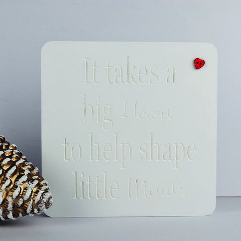 Freestanding Teacher Plaque