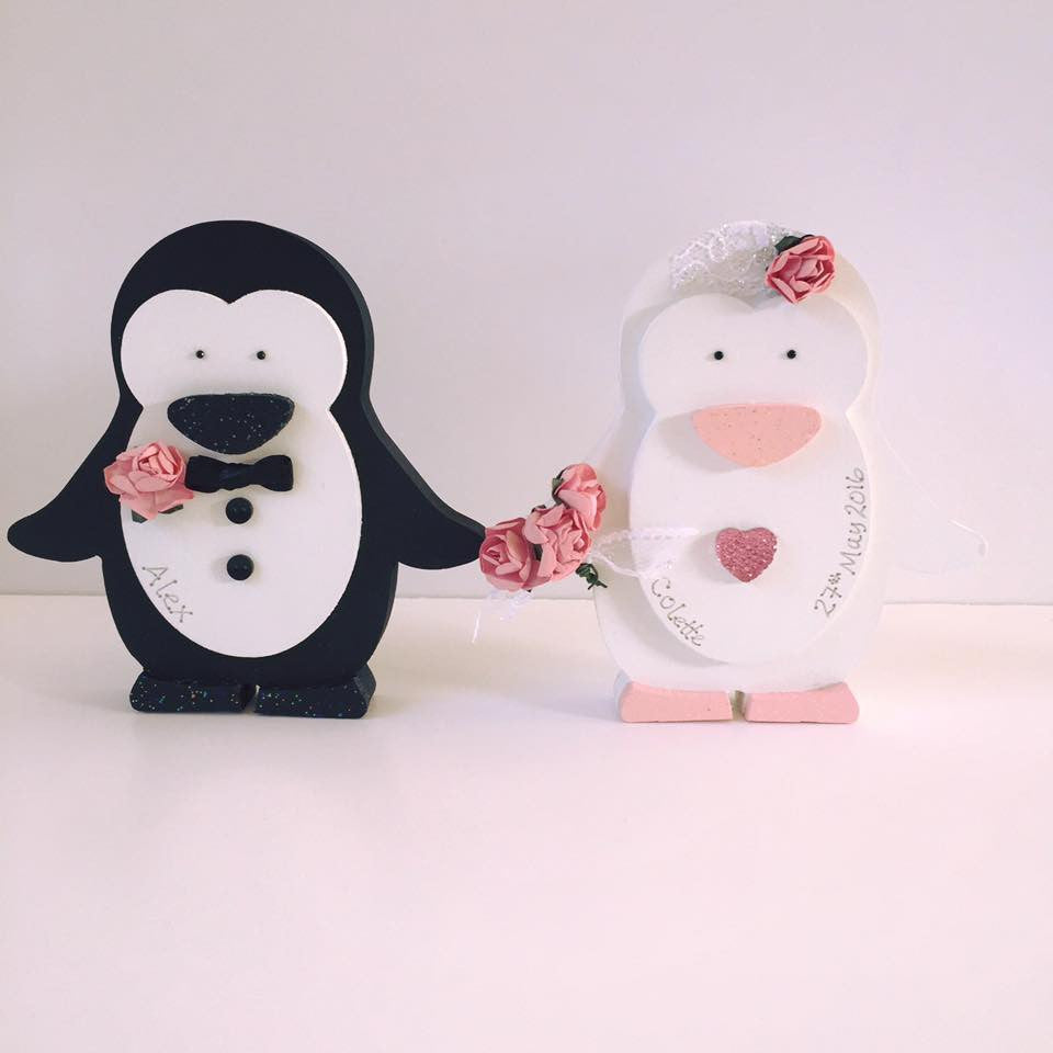 Bride and Groom Penguins