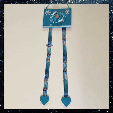Frozen Hanging Hairclip Holder