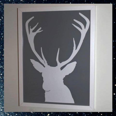 Stag print