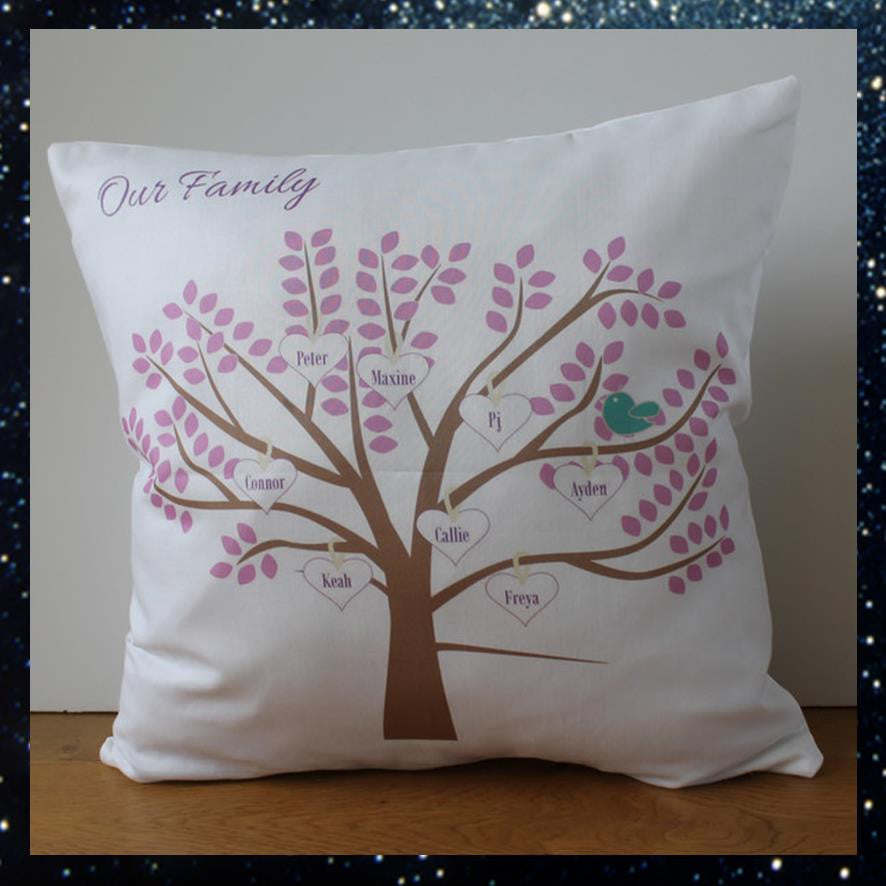 Family tree/Grandchildren cushion