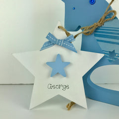 Boy's Double Hanging Star