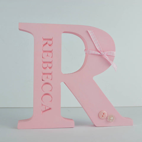 Free standing Engraved Initial