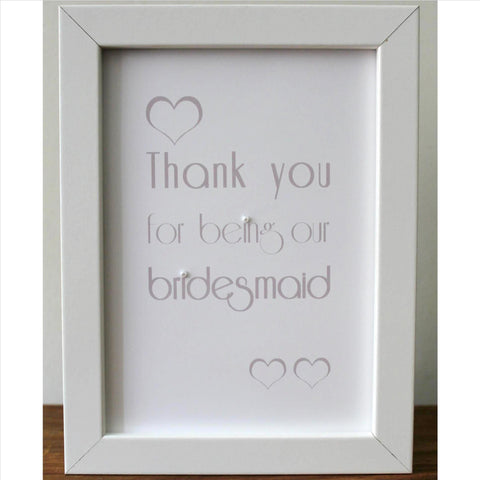 Bridesmaid frame style 2