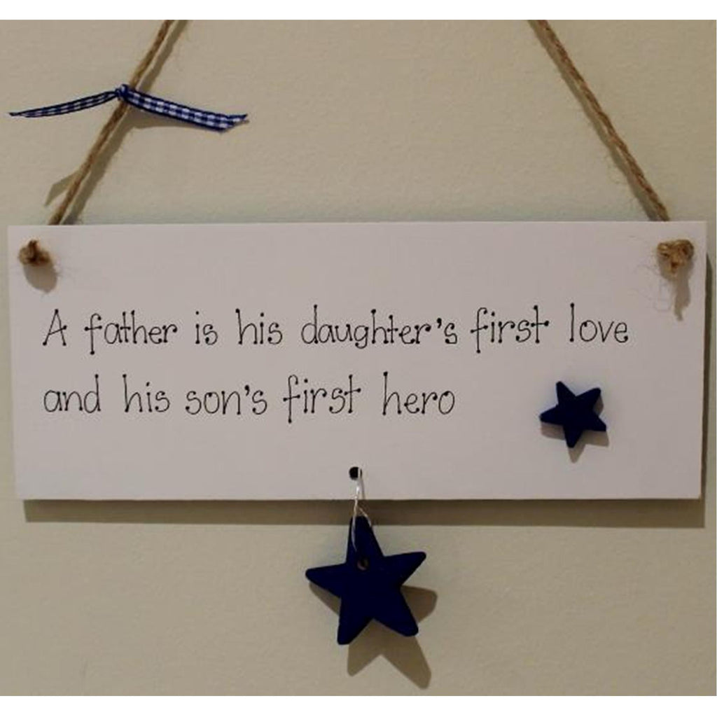 Father's Day Hanging Plaque