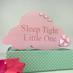 Nursery Cloud Shelfie/hand-painted gift | nursery decor/baby gift