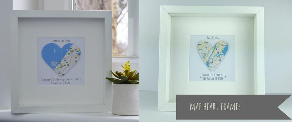 map heart engagement frames