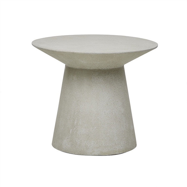 Livorno (Outdoor) Round Side  Table - Grey Speckle
