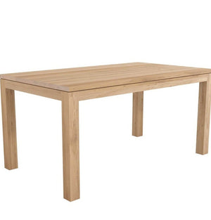 Ethnicraft | Oak Straight Dining Table