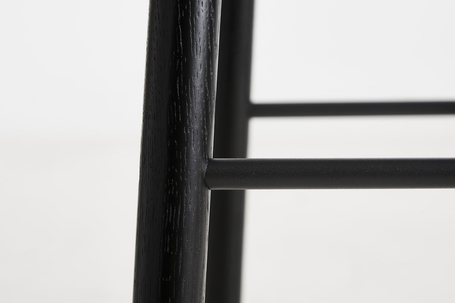 Woud | Mono Counter Stool - Black
