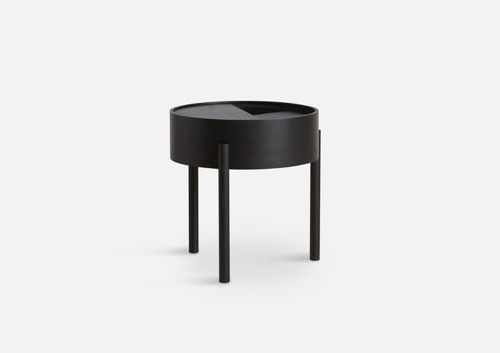 Woud | Arc Side Table - Black