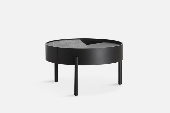 Woud | Arc Coffee Table - Black