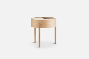 Woud | Arc Side Table - Oiled Oak