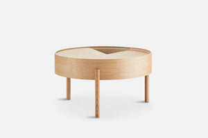 Woud | Arc Coffee Table - Oiled Oak